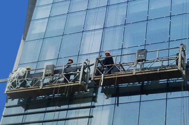 100 मीटर - 300 मीटर उच्च वृद्धि इमारत चित्रकला के लिए 220V निलंबित पहुंच प्लेटफॉर्म