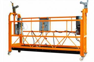सीई प्रमाणित एल्यूमीनियम निलंबित काम मंच zlp1000 मोटर पावर 2.2 किलोवाट