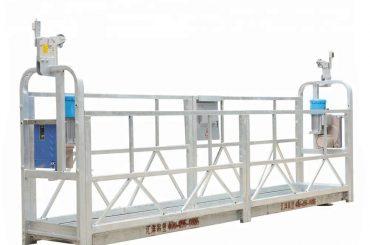 10 मीटर 800 किलो सस्पेंडेड मचान प्रणाली एल्यूमीनियम मिश्र धातु भारोत्तोलन ऊंचाई 300 मीटर के साथ