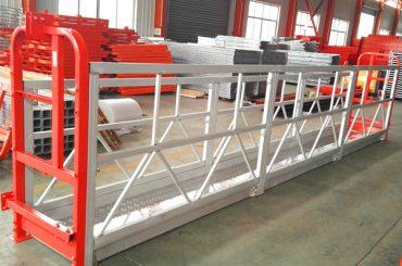 3 वर्गों के वजन के साथ 2 वर्ग 500 किलो निलंबित कार्य मंच