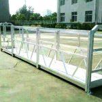 विभिन्न मॉडल इलेक्ट्रिक निर्माण कार्य मंच क्रैडल उठाना