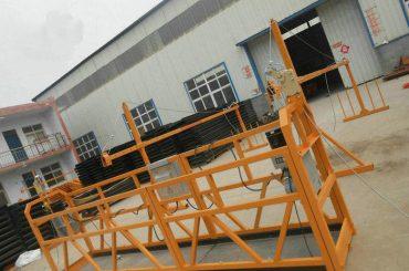 विश्वसनीय zlp630 पेंटिंग स्टील निर्माण के निर्माण के लिए कामकाजी मंच निलंबित कर दिया