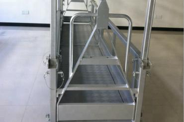 निलंबित इस्पात कार्य मंच / निलंबित इस्पात मंच