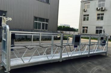 समायोज्य एल्यूमीनियम मिश्र धातु रस्सी refurbishing / चित्रकला के लिए मंच zlp 800 निलंबित