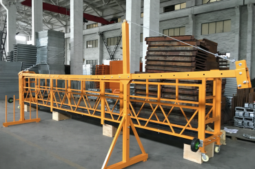 zlp 500 lp 630 अस्थायी रूप से निर्माण के लिए तार रस्सी मंच निलंबित कर दिया