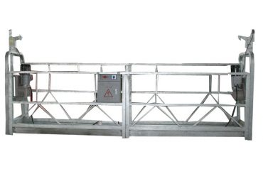 एल्यूमीनियम मिश्र धातु / स्टील / गर्म गैल्वेनाइज्ड निलंबित एक्सेस उपकरण zlp1000