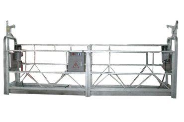 चलने योग्य क्षमता रस्सी प्लेटफार्म zlp500 रेटेड क्षमता 500 किलो के साथ निलंबित