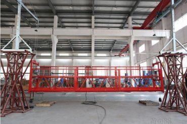10 मीटर एल्यूमीनियम मिश्र धातु hotd ltd8.0 के साथ काम कर मंच मंच निलंबित