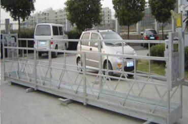 खिड़की सफाई मशीन के लिए zlp630 रस्सी निलंबित मंच / इलेक्ट्रिक स्विंग मंच / मचान