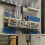 निर्माण रखरखाव रस्सी hoist ltd8.0 zlp800 के साथ मंच निलंबित
